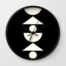 Balanced Shapes Wall Clock