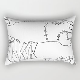 Classic Horror Hands Rectangular Pillow