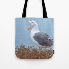 Widely Open Tote Bag
