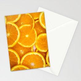 Fresh Oranges Stationery Cards