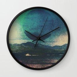Fluid Moon Wall Clock