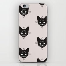 Cats!Black iPhone & iPod Skin