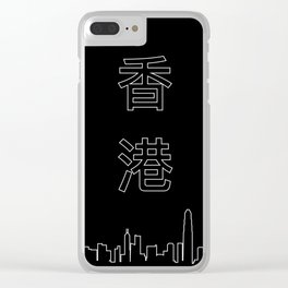 HONG KONG Clear iPhone Case