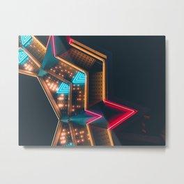The night light Metal Print