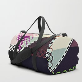 Pattern Multi Color Abstract Duffle Bag