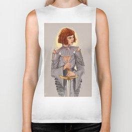 'Joan of Arc' / Zendaya Biker Tank