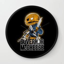 Governor McCheese Wall Clock