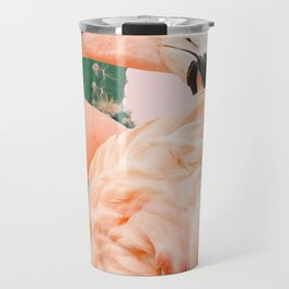 Flamingo & Cactus #society6 #decor #buyart Travel Mug