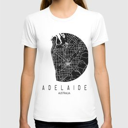 Adelaide White Round T-shirt