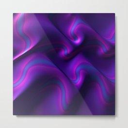 Royal Purple Metal Print