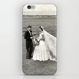 The Kennedys' Wedding iPhone Skin