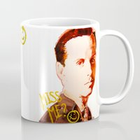 moriarty Mugs featuring Miss me? - Jim Moriarty by Pash Arts