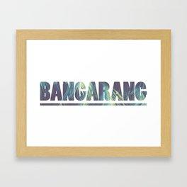 Bangarang Nostalgic 90s Hook Inspired Framed Art Print