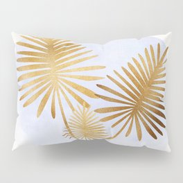Golden Palms Pillow Sham