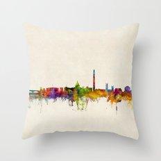 Washington DC Skyline Cityscpae Throw Pillow