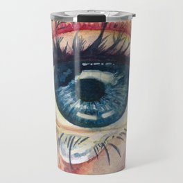 Eye of an Old Soul Crying for the Future Travel Mug
