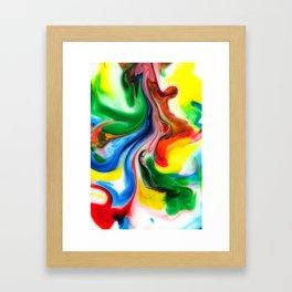 Jig Framed Art Print