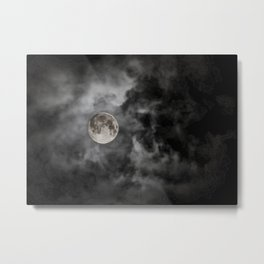 Black Night Metal Print