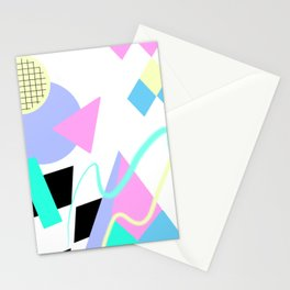 80s Retro Memphis Art Ugly Sweater Stationery Cards