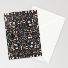 Victorian Style Grunge Pattern Stationery Cards