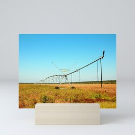 Crop Irrigation Mini Art Print