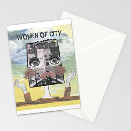 Women of City Colours Stationery Cards