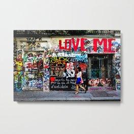 Love Me Metal Print