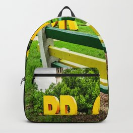 Baylor University Campus Bench Bright Future Backpack