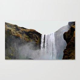 Skógafoss Canvas Print