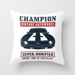 Camaro Vintage Throw Pillow