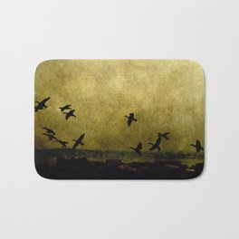africa is a feeling - on the wing Bath Mat