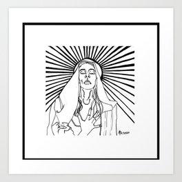 The Ecstasy of Madonna Art Print