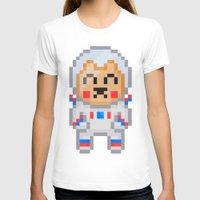 8bit T-shirts featuring 8Bit Astrobear by Bear Picnic