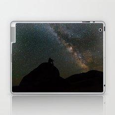 Man Before the Milky Way Galaxy  Laptop & iPad Skin
