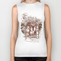 medieval Biker Tanks featuring Medieval warrior by Tshirt-Factory
