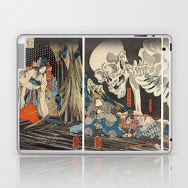 Takiyasha the Witch and the Skeleton Spectre Laptop & iPad Skin
