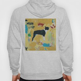 Boston Terrier Painting Art Hoody