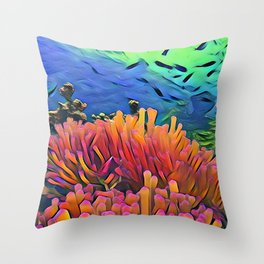 Little Show Throw Pillow
