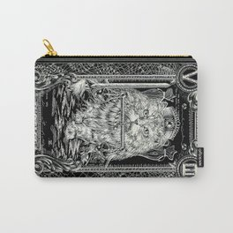 JUSTICE of Tarot Cat Carry-All Pouch