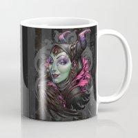 evil Mugs featuring Mistress of Evil by Medusa Dollmaker