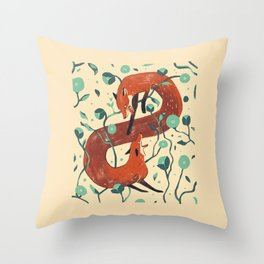 Inner turmoil Throw Pillow