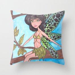 Tree Fairy Throw Pillow