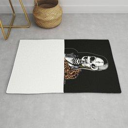 Skull Cobain by zombieCraig Rug