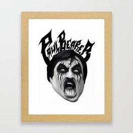 Black Metal Paul Bearer Framed Art Print
