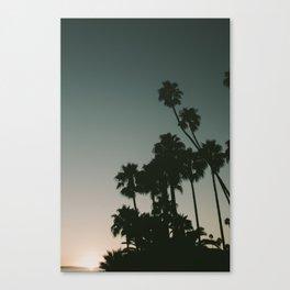 CALIFORINA DUSK Canvas Print