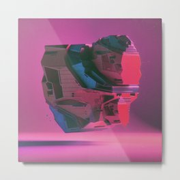 POSEIDON MECH-HEART SUPERJAM (everyday 11.17.15) Metal Print