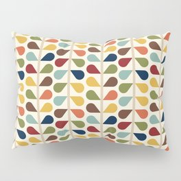 Mid Century Modern RetroTeardrops Pillow Sham