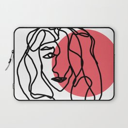 Contour Woman Laptop Sleeve