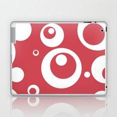 Circles Dots Bubbles :: Berry Blush Laptop & iPad Skin