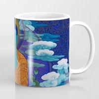 medicine Mugs featuring Medicine Buddha by Kalsang Dawa